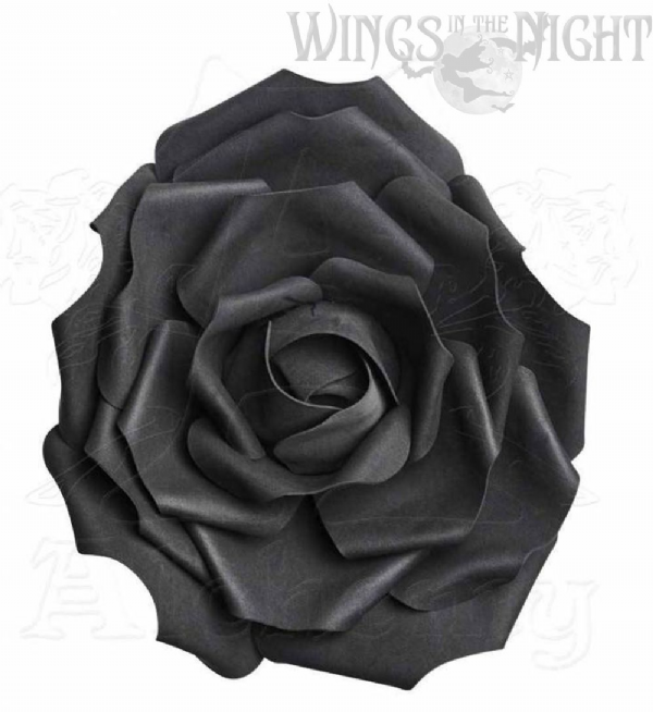 ALCHEMY GOTHIC Large Black Rose Head